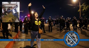 Protests in Anaheim After Incident in Which Off Duty Police Officer Shot Gun During Dispute with Young Teens