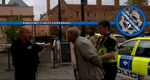 Cambridgeshire Police Arrest UK CopBlocker For Filming Them Arrest a Man That Refused To Pay Bill