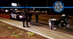 Fresno Cop Harasses Cyclists Riding on Sidewalks Using Imaginary Law