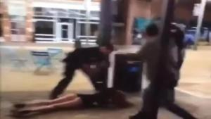Smashing A Woman's Face is What Brave Cops Do (VIDEO)