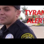 Santa Maria Police Tyrants Illegally Detain And Search Cop Blocker