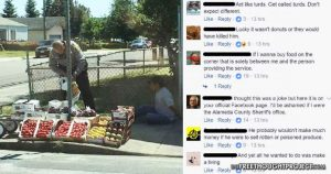 Police Try to Justify Photo of Cop Arresting Man Selling Vegetables