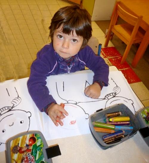 Desenez fata prietenului meu- tu ai prieteni?