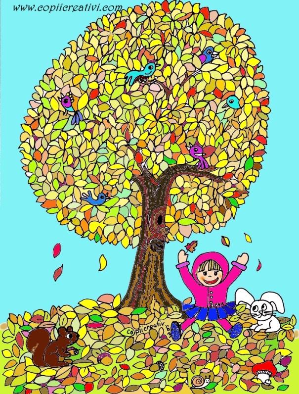 copacul lui elena colorat2