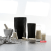 black stand up pouch - black kraft paper bag - copious bags