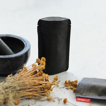 black packaging for bath salt-stand up zipper bags bulk