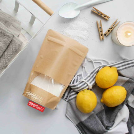 body scrub packaging zipper stand up bags