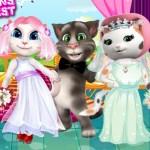 White Kittens Bride Contest