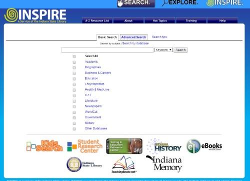 505 Inspire screen