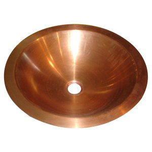 Copper Sink Smooth Finish - Coppersmith Creations