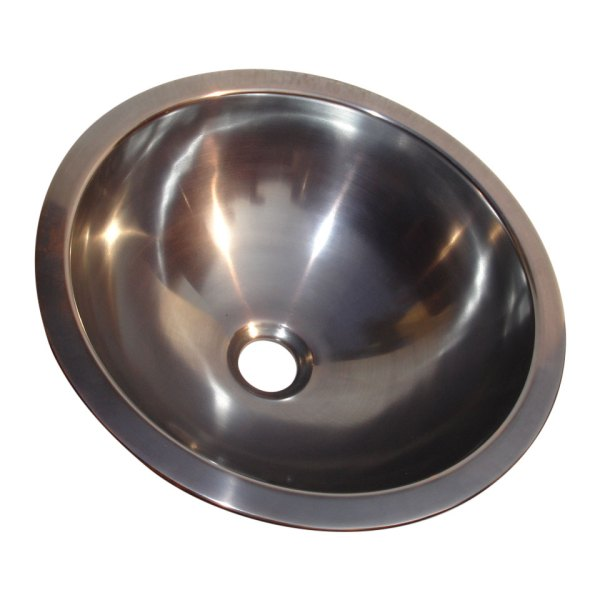 Dark Antique Copper Sink - Coppersmith Creations