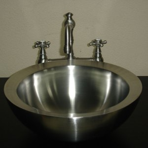 Double Wall Steel Sink - Coppersmith Creations