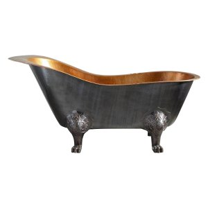 Clawfoot Copper Tub Chinese Style