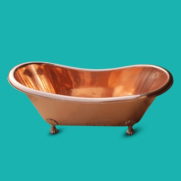 Copper Bathtub Clawfoot Full Copper