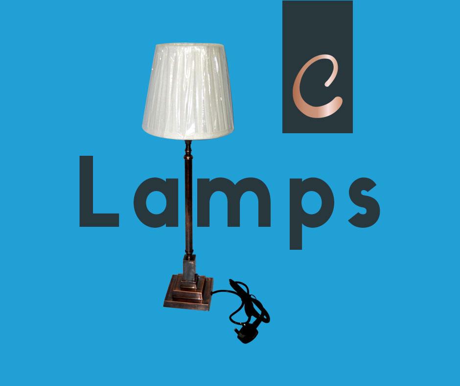 Elite Copper Lamp