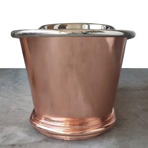 Copper Bathtub Nickel Inside Shining Copper Outside