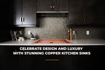 Luxury Copper Kitchen Sink