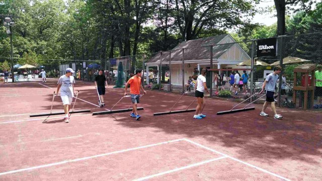Sweeping the courts at Copper Valley Club