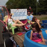 Copper Valley Club's float in the Memorial Day parade