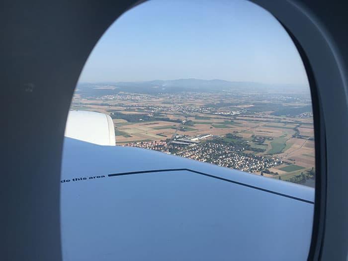 First View of Frankfurt