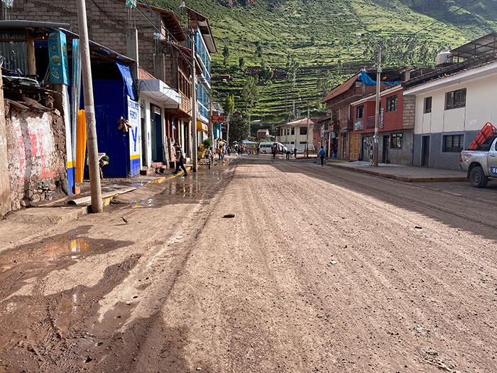 The Street in Front of el Mercado