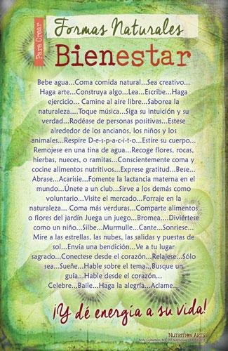 Wellness Poster Spanish