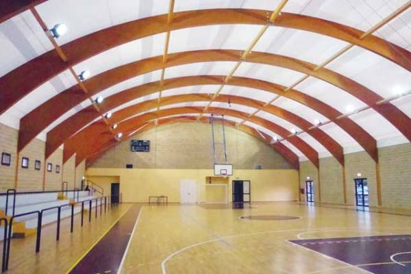 Basketball Court Construction - CopriSystems