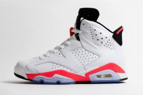 Jordan 6 Retro 'White Infrared'