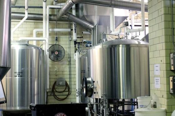 clean beer factory