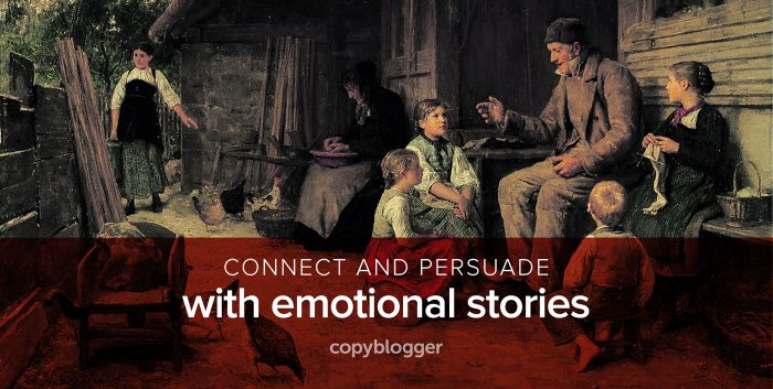 connect and persuade with emotional stories