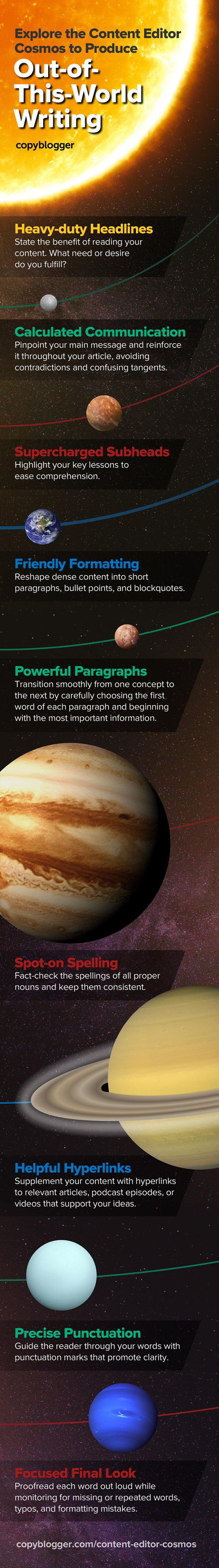 Explore the Content Editor Cosmos to Produce Out-of-This-World Writing [Infographic]