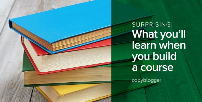 surprising! what you'll learn when you build a course