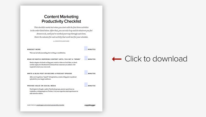 content-productivity-checklist-cover