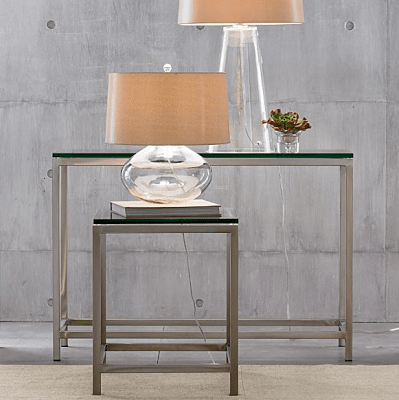 Merveilleux Crate And Barrel Era Console Table