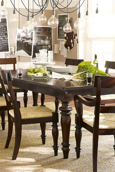 Pottery Barn Montego Dining Room Table - copycatchic