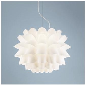 Lamps Plus Possini Euro Design White Flower Pendant Chandelier 199 99