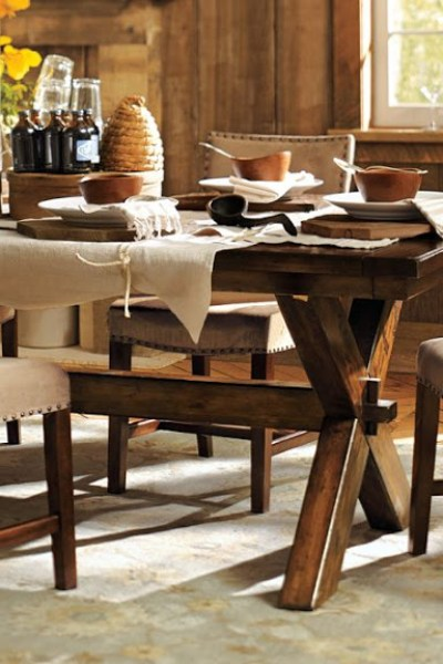 Pottery Barn Claremont Dining Table Copycatchic - Pottery barn trestle dining table