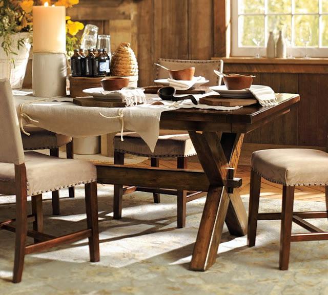 Lovely Pottery Barn Toscana Dining Table