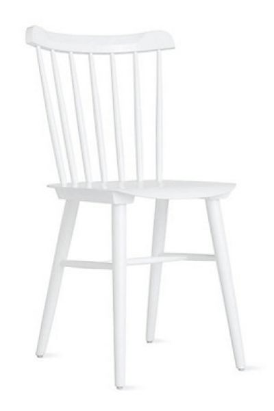 Design Within Reach Salt Chair in White - copycatchic