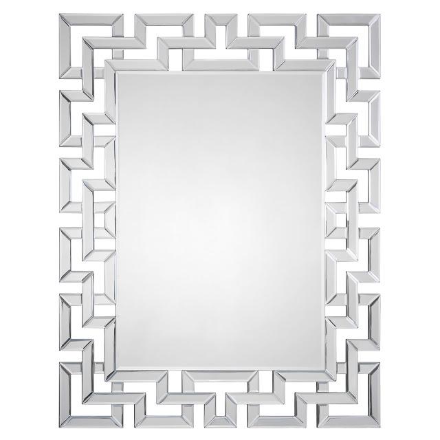 Zinc Door Mirrored Greek Key Mirror  sc 1 st  copycatchic & Zinc Door Orbital Mirror - copycatchic