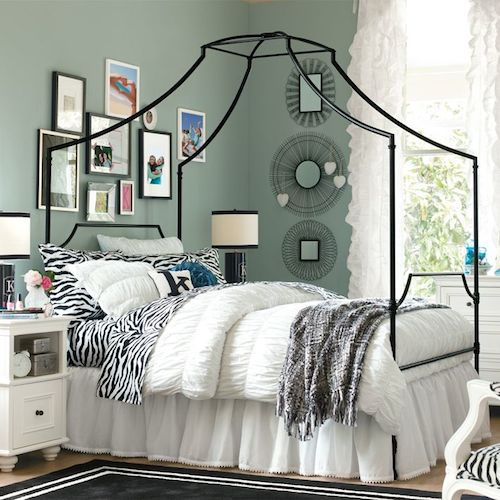 Lovely Pottery Barn Teen Maison Canopy Bed