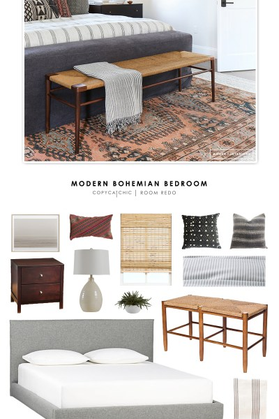 Copy Cat Chic Room Redo   Modern Bohemian Bedroom - copycatchic