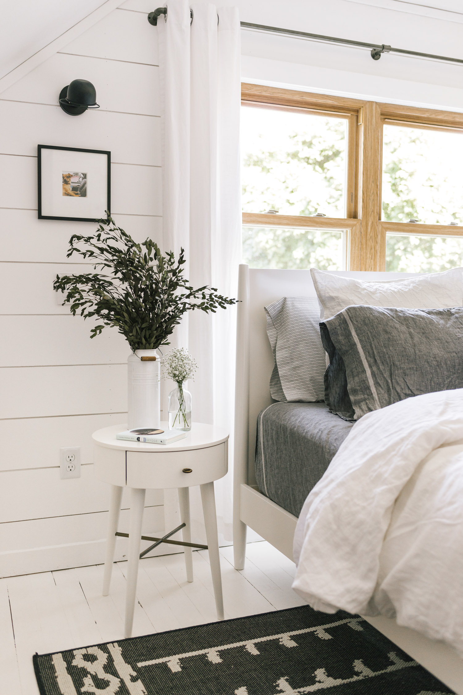 Daily Find | West Elm Mid Century Bed White