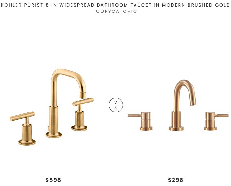 kohler purist widespread faucet