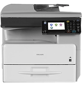 Ricoh Aficio MP 301SPF  generates up to 31 pages per minute. The tiltable, 4.3″ color touch-panel display makes for easy interface. Short recovery time of less than 10 seconds from Sleep Mode. High speed duplexing ability and enhanced first copy out time.