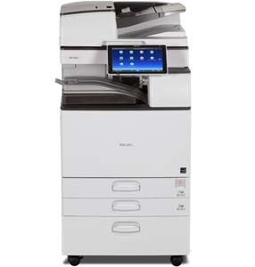 Ricoh MP 5055 produces up to 50 black-and-white prints/copies per minute, with 1200 x 1200 dpi max print resolution. Use the Smart Operation Panel to copy, print, scan and fax quickly. Load up to 220 single-sided or double-sided color or black-and-white originals in the Single Pass Document Feeder for fast & easy scanning. Share information from your smartphone or tablet using the MFP.