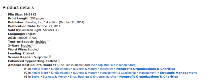 Comparing subcategories for best seller stats 2
