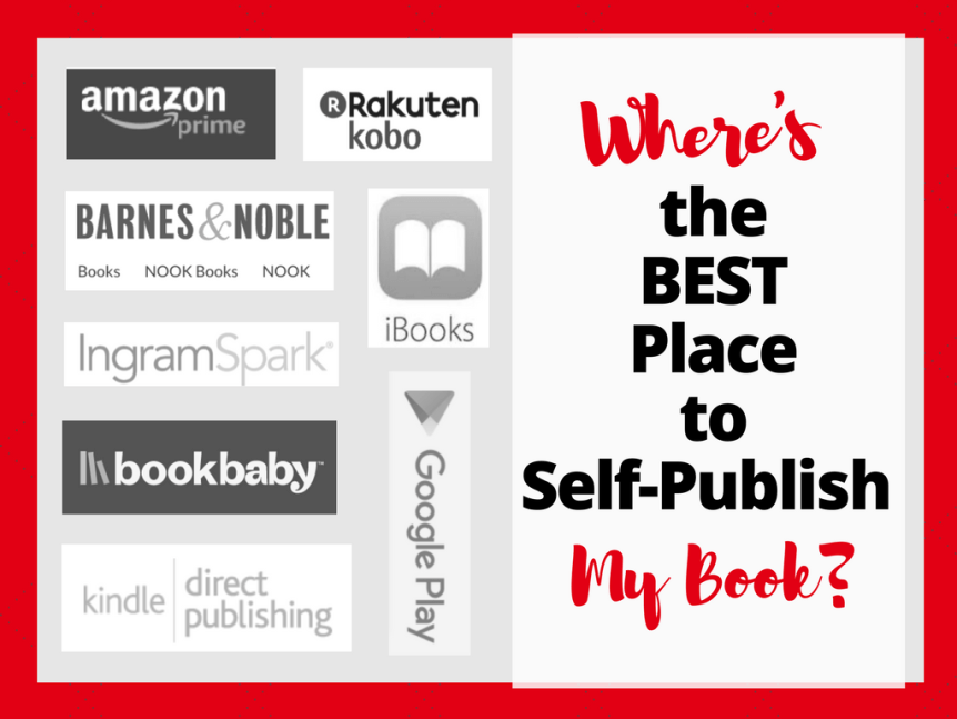 where to selfpublish your book - epic blog article