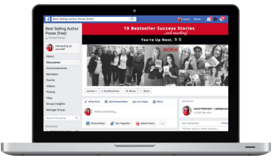 join the bestselling author posse on facebook