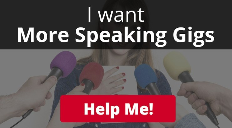 get more speaking opportunities